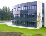 rundes Bürogebäude