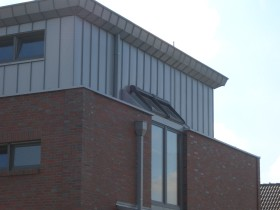 Wohncubus Detailaufnahme Obergeschoss