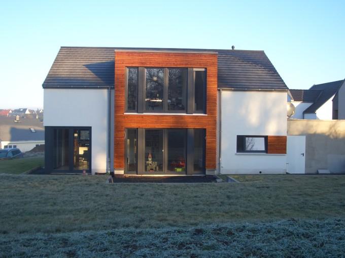 Brilliant Modernes Wohnhaus Traufansicht 680 x 510 · 115 kB · jpeg